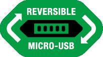 Reversible Micro USB